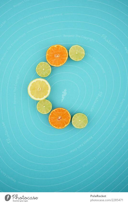 #AS# Vitamin C Fitness Sport-Training Diät Essen Gesunde Ernährung blau Limone Limettenscheibe Orange Zitrone Südfrüchte Kreativität Gesundheit Bioprodukte