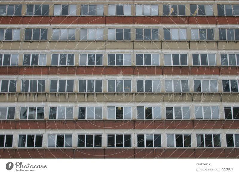 Platte pur Architektur Deutschland Wohnung Hochhaus trist Osten Plattenbau gleich Chemnitz Sachsen Sozialismus