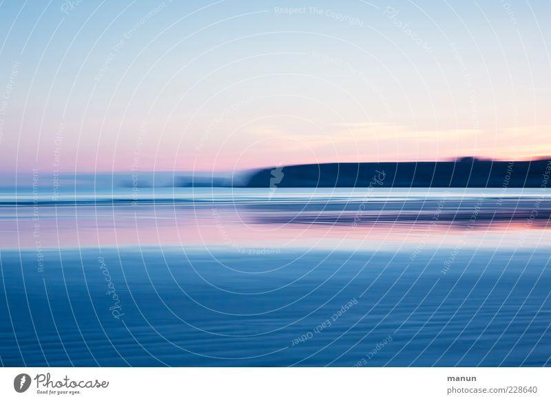 Traumziel Natur Landschaft Urelemente Wasser Felsen Küste Strand Bucht Meer außergewöhnlich Fernweh Hintergrundbild Farbfoto Außenaufnahme Experiment abstrakt