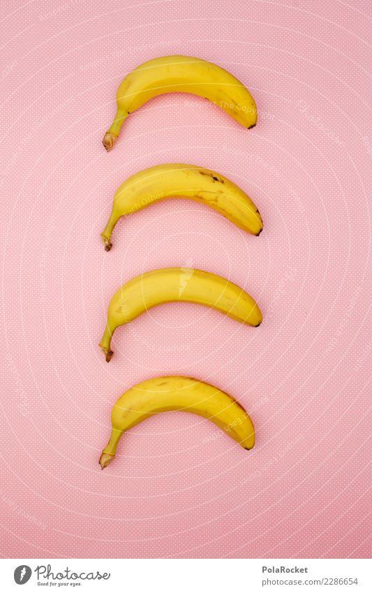 #AS# Rosa Bananen Kunst ästhetisch Symmetrie Design Designmuseum 4 Bananenschale Bananenplantage Bananenmagazin gestalten Grafische Darstellung außergewöhnlich