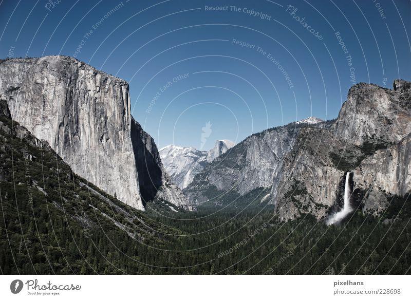 durchatmen... Ferien & Urlaub & Reisen Sommer Berge u. Gebirge Natur Landschaft Urelemente Wasser Himmel Wolkenloser Himmel Schönes Wetter Baum Felsen