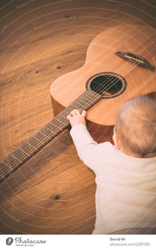 *noch* ein bisschen früh Kind Mensch Hand Freude Leben feminin Kunst Spielen Zufriedenheit Freizeit & Hobby maskulin elegant Musik Kindheit lernen Finger