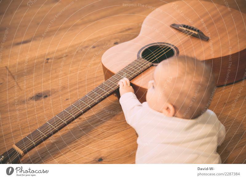 Gehörbildung elegant Leben Zufriedenheit Sinnesorgane Freizeit & Hobby Spielen Kindererziehung Bildung lernen Mensch feminin Baby Mädchen Kindheit Kopf Gesicht