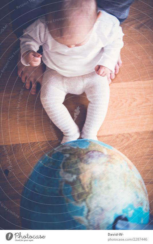 Ich erkunde die Welt Ferien & Urlaub & Reisen Ausflug Abenteuer Ferne Mensch maskulin feminin Kind Baby Kleinkind Mädchen Eltern Erwachsene Vater