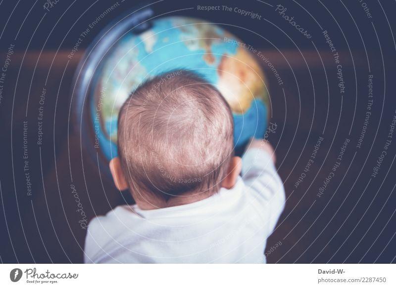 es gibt noch so viel zu entdecken Ferien & Urlaub & Reisen Ausflug Abenteuer Ferne Freiheit Kindererziehung Mensch maskulin feminin Baby Kleinkind Kindheit