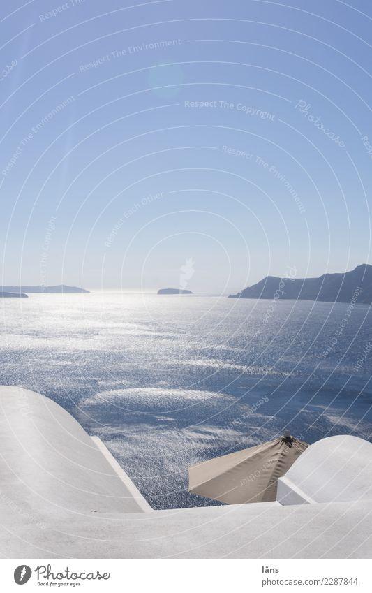 auf dem Vulkan Himmel Ferien & Urlaub & Reisen Stadt Sonne Meer Ferne außergewöhnlich Tourismus Ausflug Horizont Abenteuer Insel Schönes Wetter