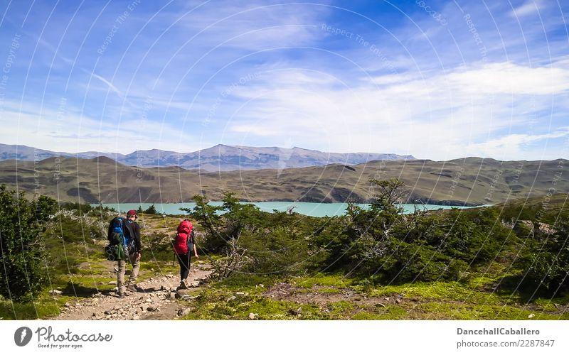 Patagonian Feelings... Freizeit & Hobby Ferien & Urlaub & Reisen Tourismus Ausflug Abenteuer Freiheit Sommer Sommerurlaub wandern Frau Erwachsene Mann Paar 2