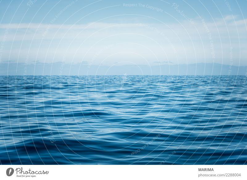Ocean Ferien & Urlaub & Reisen Sommer Natur Wasser Wellen Meer Bootsfahrt Sauberkeit blau Atlantic Atlantic Ocean Canary Islands Europa Puerto de Santiago Spain