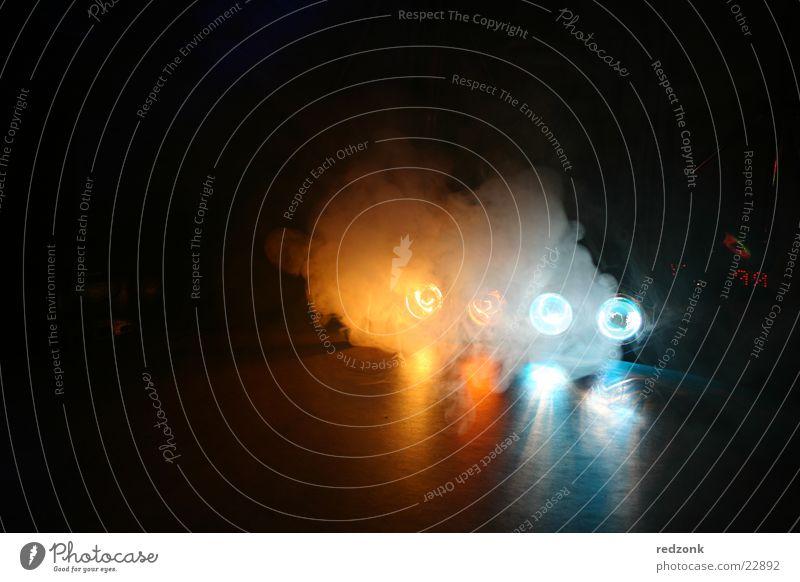 Licht & Rauch 1 blau Lampe Party Stil orange Nebel Disco Freizeit & Hobby Bühnenbeleuchtung Scheinwerfer