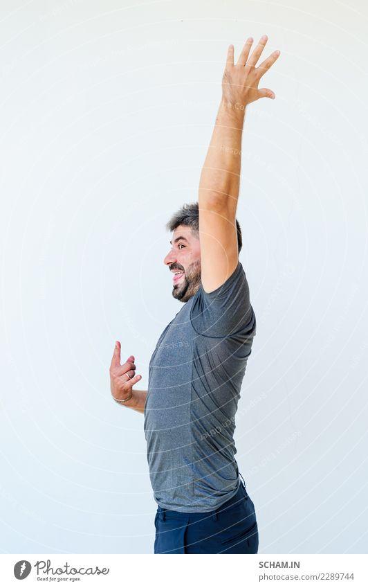 Yogaschüler, die verschiedene Yogahaltungen zeigen. Arm erhoben Lifestyle Erholung Sport Erwachsene sitzen einzigartig Identität Yin Yang Yoga Ausbildung