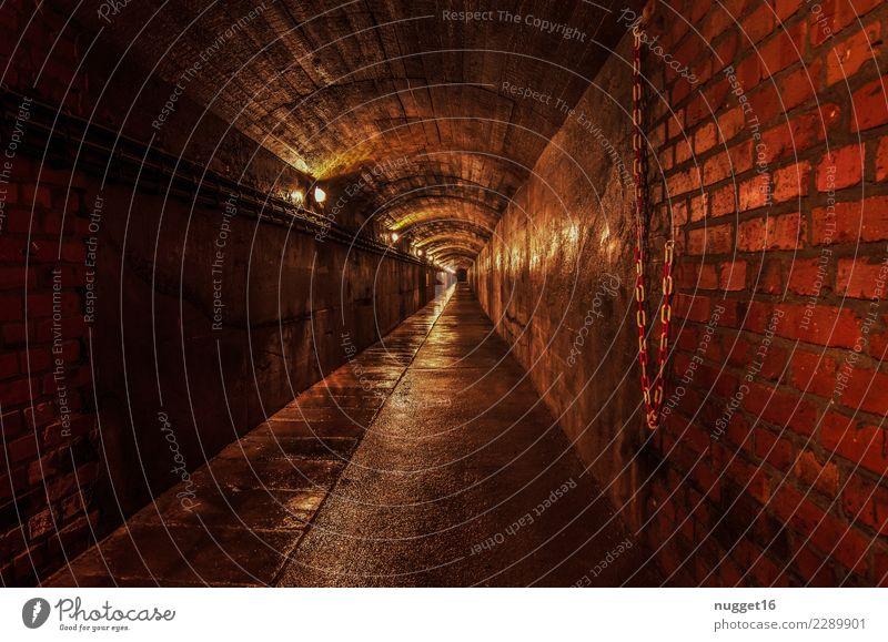 the tunnel Ferien & Urlaub & Reisen alt rot schwarz Architektur gelb Wand Innenarchitektur Gebäude Mauer außergewöhnlich Tourismus Deutschland braun Ausflug
