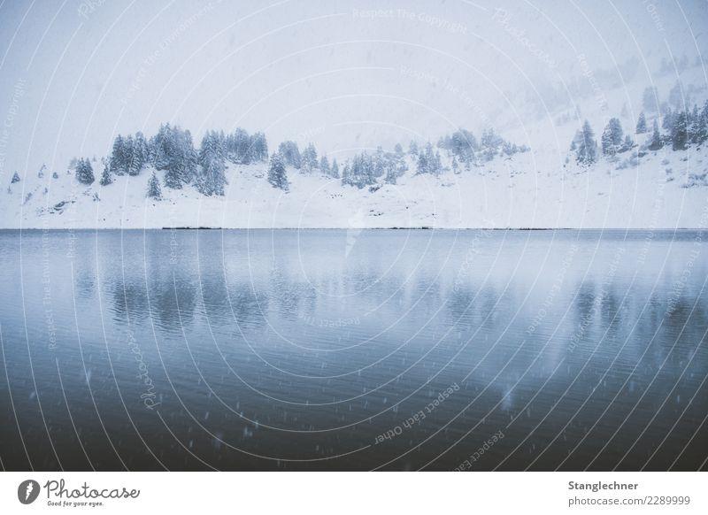 See II Ferien & Urlaub & Reisen Tourismus Ausflug Abenteuer Ferne Winter Berge u. Gebirge wandern Landschaft Klima schlechtes Wetter Wind Sturm Nebel Eis Frost