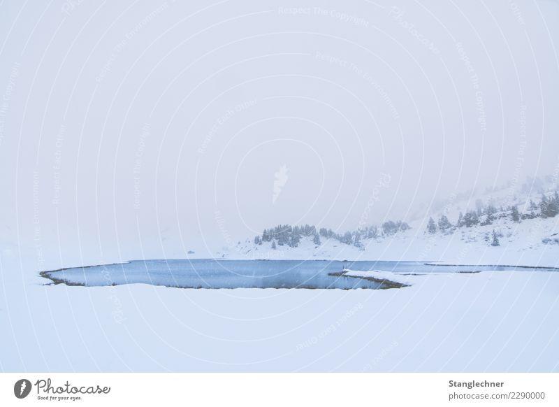 See I Ferien & Urlaub & Reisen Tourismus Ausflug Abenteuer Winter Schnee Winterurlaub Berge u. Gebirge wandern Umwelt Natur Landschaft Klima Schneefall Alpen