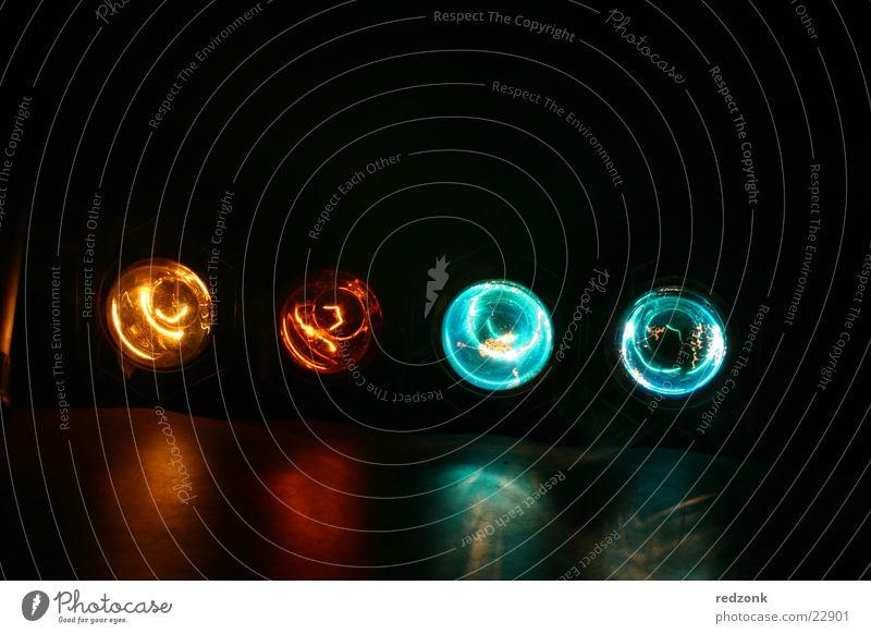 Spot off Licht Nebel Party Disco Bühnenbeleuchtung Lampe Reflexion & Spiegelung Stil glühen Glühdraht Freizeit & Hobby Scheinwerfer Rauch orange blau alt