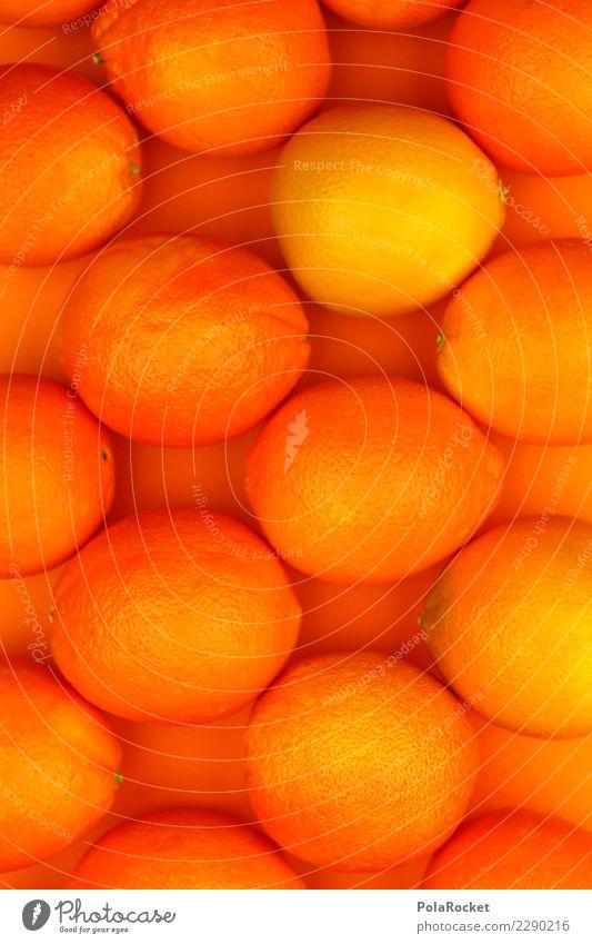 #AS# Oranges Muster Kunst orange Frucht ästhetisch viele Erkältung Kunstwerk vitaminreich Vitamin C Orangerie orange-rot Orangensaft Orangenhaut Orangenschale