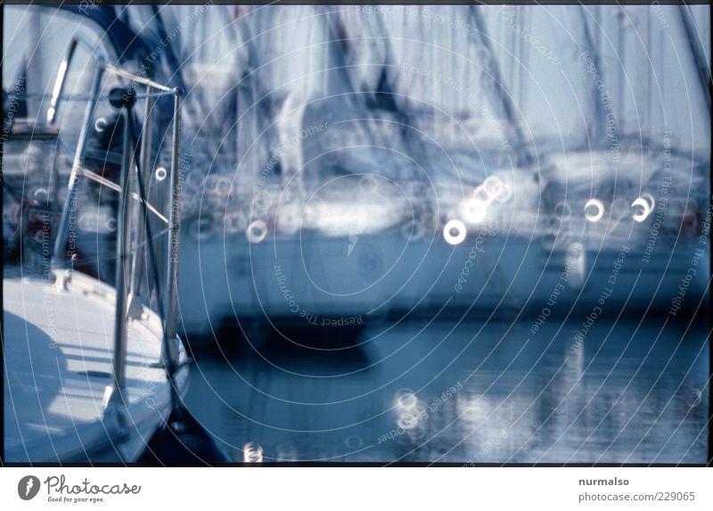 Törn ins Wochenende Ferien & Urlaub & Reisen Meer Erholung Stil Freizeit & Hobby glänzend Lifestyle Hafen Schönes Wetter Segeln Schifffahrt Anlegestelle Im Wasser treiben trendy Mast Segelboot