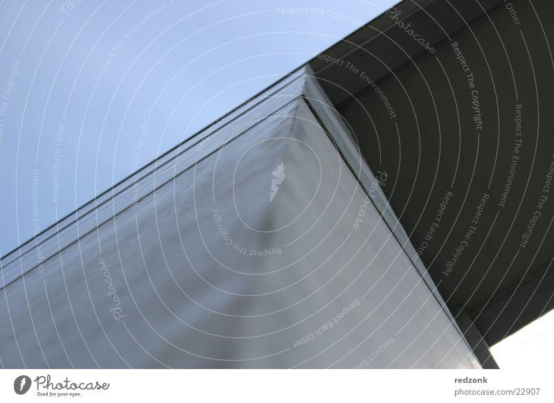 Himmelspforte Haus Architektur Beton modern Hochhaus Tor Bundeskanzler Amt