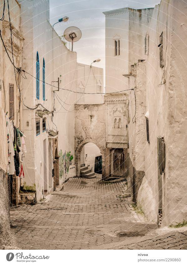 Marokko Ferien & Urlaub & Reisen Haus Wolken Ferne Fenster Architektur Wand Gefühle Gebäude Mauer außergewöhnlich Tourismus Stein Stimmung Fassade Ausflug