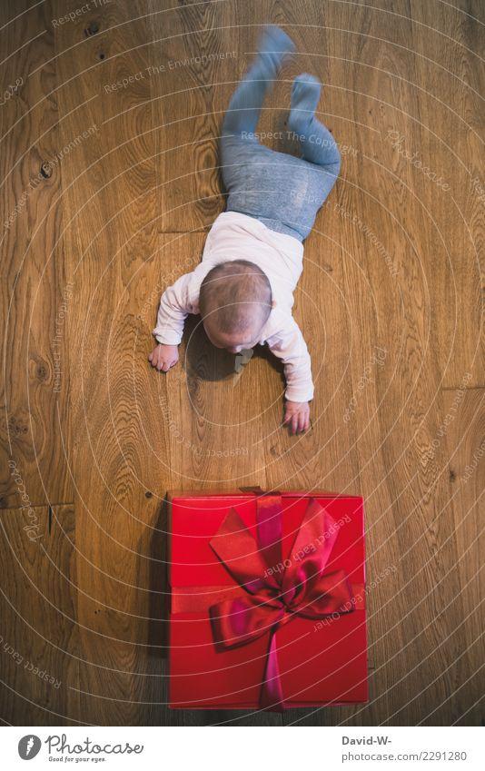 Überraschung | Geschenk Lifestyle elegant Freude Glück Feste & Feiern Weihnachten & Advent Geburtstag Mensch maskulin feminin Kind Baby Kleinkind Mädchen Junge