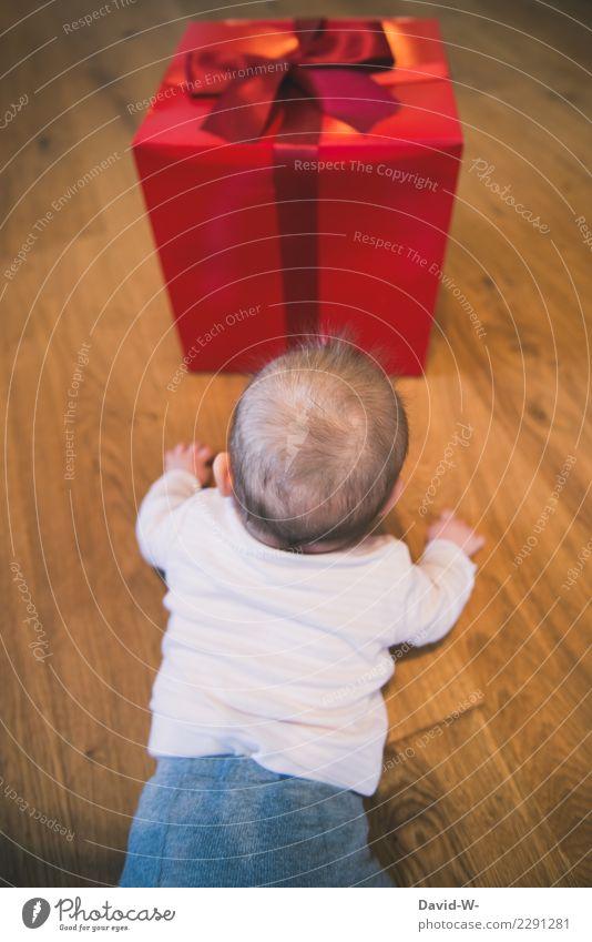 ist das für mich??? Lifestyle Häusliches Leben Wohnung Feste & Feiern Weihnachten & Advent Geburtstag Taufe Mensch Kind Baby Kleinkind Kindheit 1 beobachten