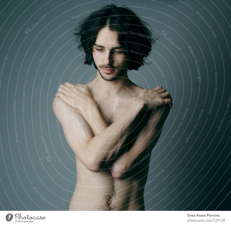 schnellkochtopf. maskulin Körper Haut 1 Mensch 18-30 Jahre Jugendliche Erwachsene Haare & Frisuren schwarzhaarig brünett langhaarig Locken stehen dünn trendy