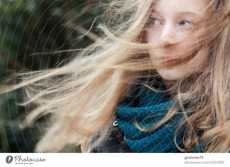 wachsen und gedeihen | fast 13 Jahre... Kind Mensch Jugendliche Junge Frau Einsamkeit Mädchen Leben Herbst Frühling Traurigkeit Gefühle feminin Haare & Frisuren