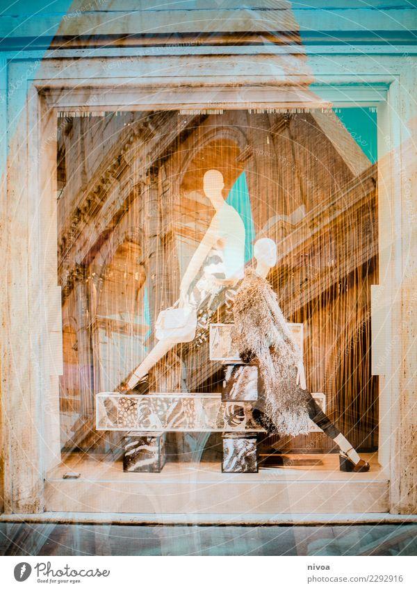Rom mal 2 Lifestyle kaufen Reichtum elegant Stil schön Ferien & Urlaub & Reisen Sightseeing Mensch feminin Frau Erwachsene Italien Hauptstadt Stadtzentrum