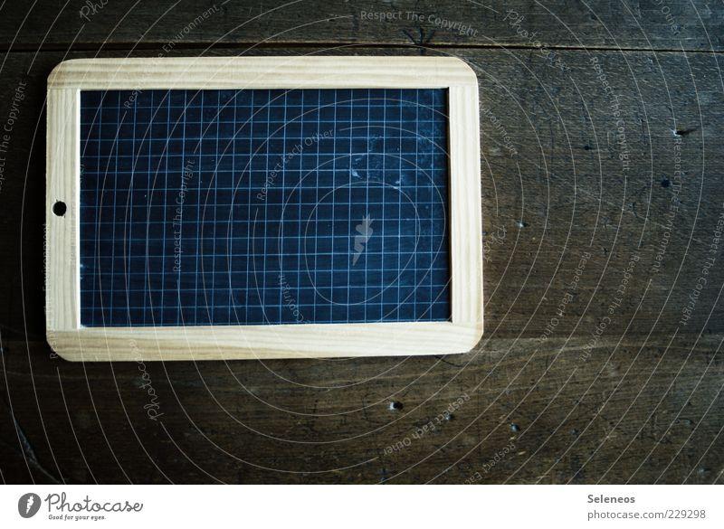 Notebook (original) alt Holz Schule Linie Streifen Tafel historisch Rahmen Nostalgie kariert Originalität veraltet Holzstruktur
