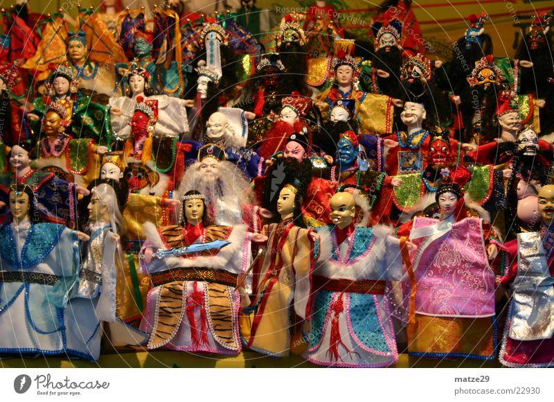 China Puppen Spielzeug Mensch Asien Kasper Marionette Taiwan