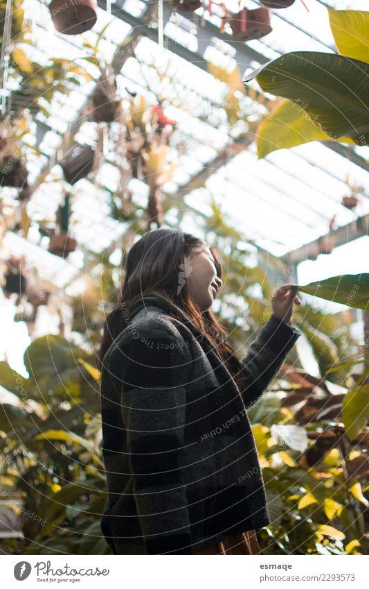Mensch Natur Ferien & Urlaub & Reisen Jugendliche Junge Frau Pflanze Baum Blume Freude Lifestyle Gesundheit natürlich feminin außergewöhnlich Freiheit