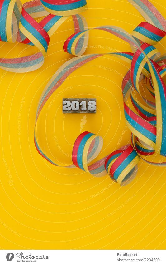 #AS# PartyRest Kunst ästhetisch 2018 2017 Ziffern & Zahlen Silvester u. Neujahr Partygast Partyraum Partyservice Partynacht Farbfoto mehrfarbig Innenaufnahme