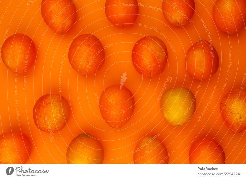 #AS# Vitamin-Muster Kunst ästhetisch orange orange-rot Orangensaft Orangerie Orangenhaut Orangenschale Frucht vitaminreich Vitamin C Gesunde Ernährung Farbfoto
