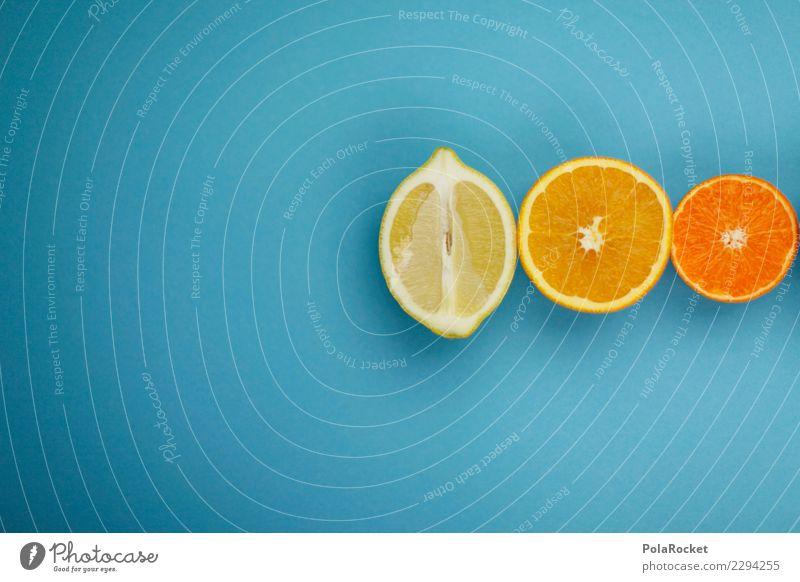 #AS# Gelb-Orange-Rot blau Gesunde Ernährung rot gelb Kunst orange Frucht ästhetisch lecker Vitamin vitaminreich Zitrusfrüchte Vitamin C