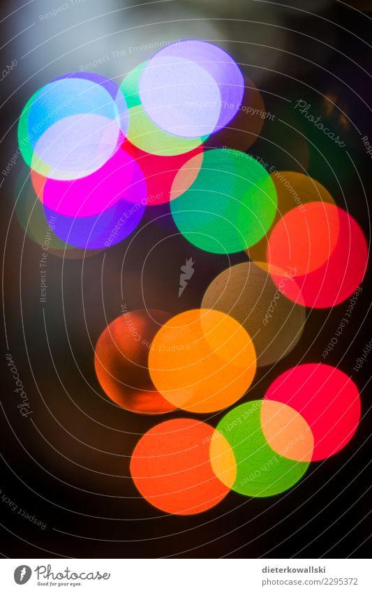 Dots schön Leben Kreativität Lichtpunkt RGB