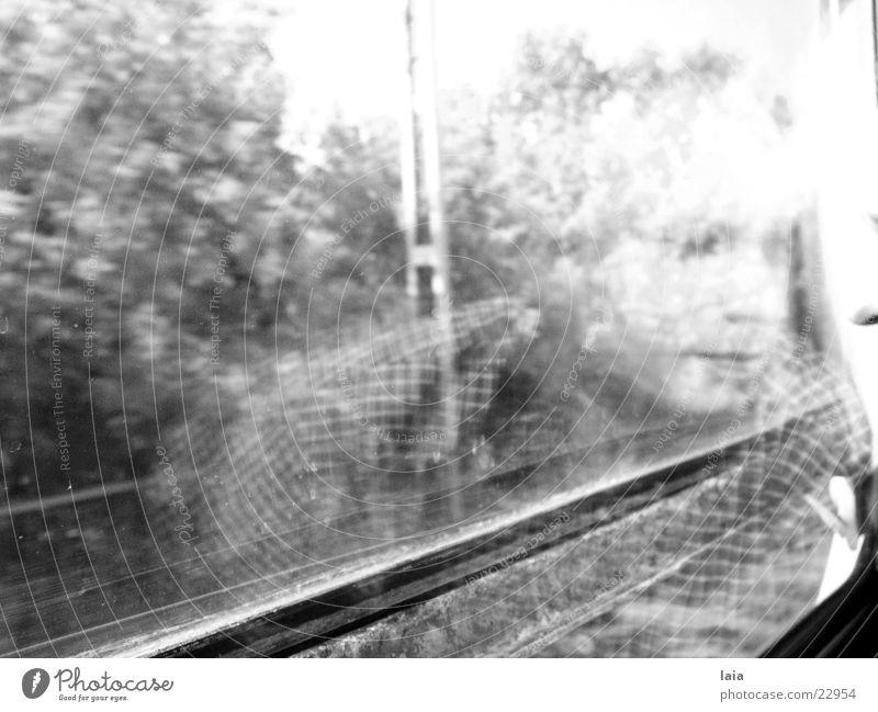 traveling Eisenbahn Mann Sommer Ferien & Urlaub & Reisen