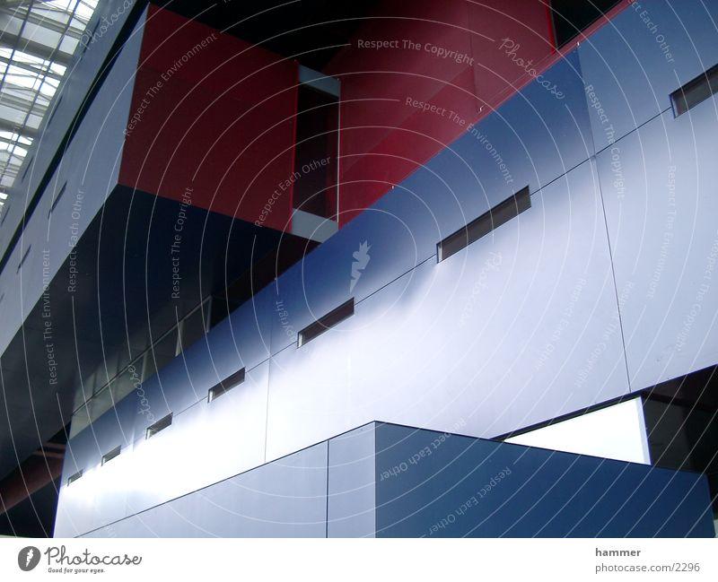 kkl luzern blau rot Gebäude Architektur Kultur Messe Luzern