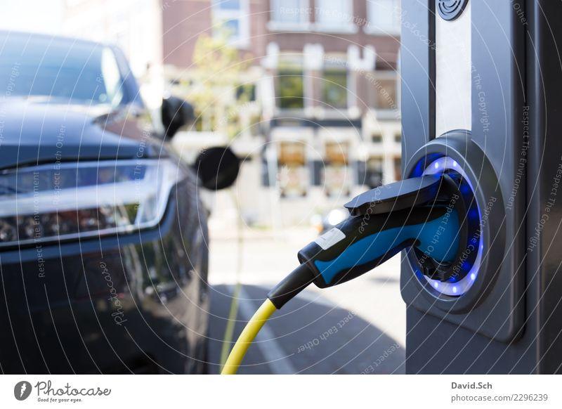 Elektroauto-Ladesäule Technik & Technologie Fortschritt Zukunft High-Tech Energiewirtschaft Klimawandel Verkehr Verkehrsmittel Personenverkehr Autofahren PKW