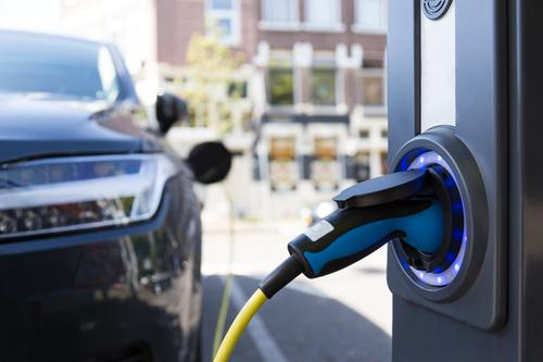 Elektroauto-Ladesäule Umwelt Verkehr PKW modern Energiewirtschaft Technik & Technologie Zukunft Klima Güterverkehr & Logistik Umweltschutz nachhaltig
