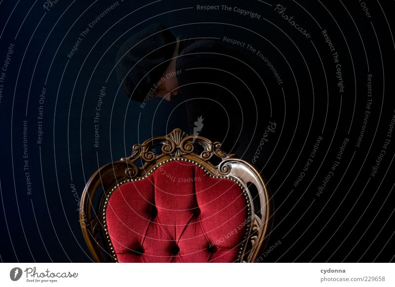 Kapitel 1: Perfekte Tarnung Lifestyle elegant Stil Möbel Stuhl Raum Mensch ästhetisch entdecken geheimnisvoll Idee Kreativität Leben Rätsel ruhig Schutz