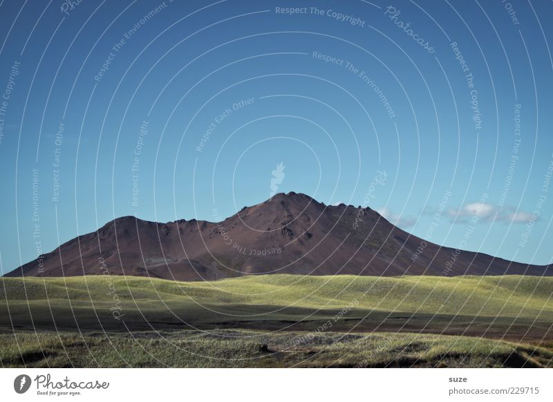Berg Himmel Natur blau grün schön Ferne Wiese Umwelt Landschaft Berge u. Gebirge Felsen groß Klima außergewöhnlich einzigartig Hügel
