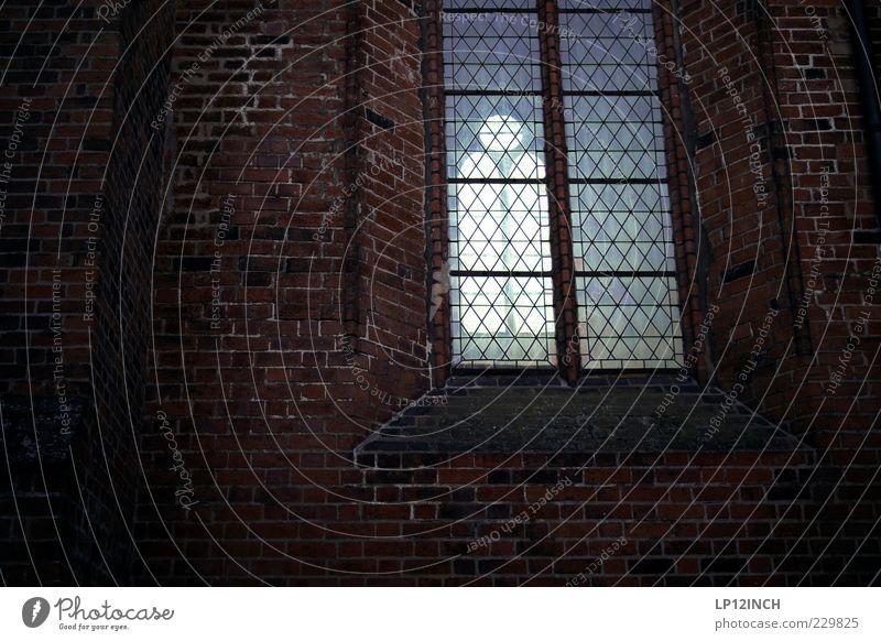 verschlossener Ort Tod Fenster Wand Mauer Traurigkeit Religion & Glaube Deutschland hoch Europa Kirche Hoffnung Trauer Glaube Sehenswürdigkeit Beerdigung Kloster