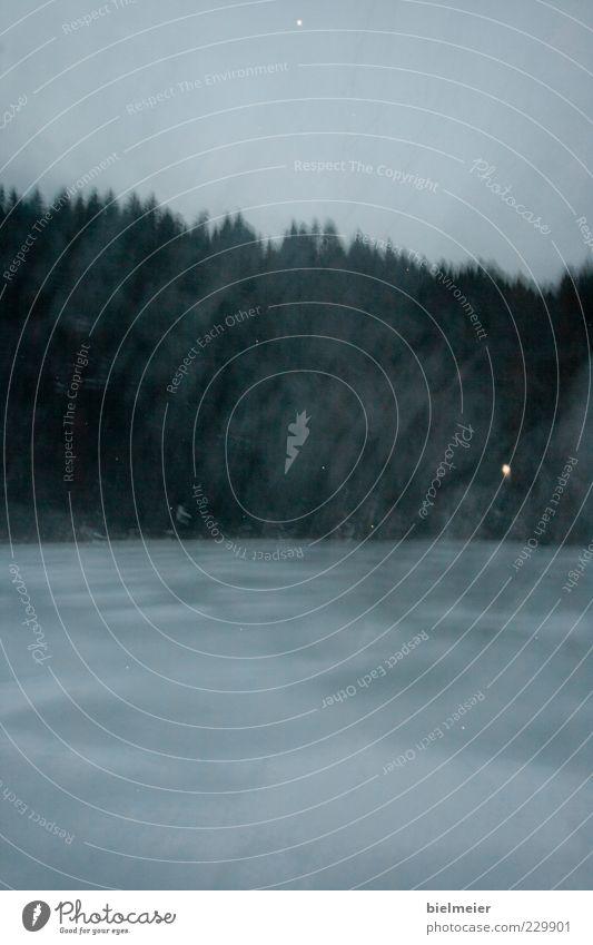 """""""Boarische"""" Himmel Wasser Baum Winter ruhig Umwelt dunkel Landschaft Gefühle Gras See Wind Nebel Sträucher Tropfen Dunst"""