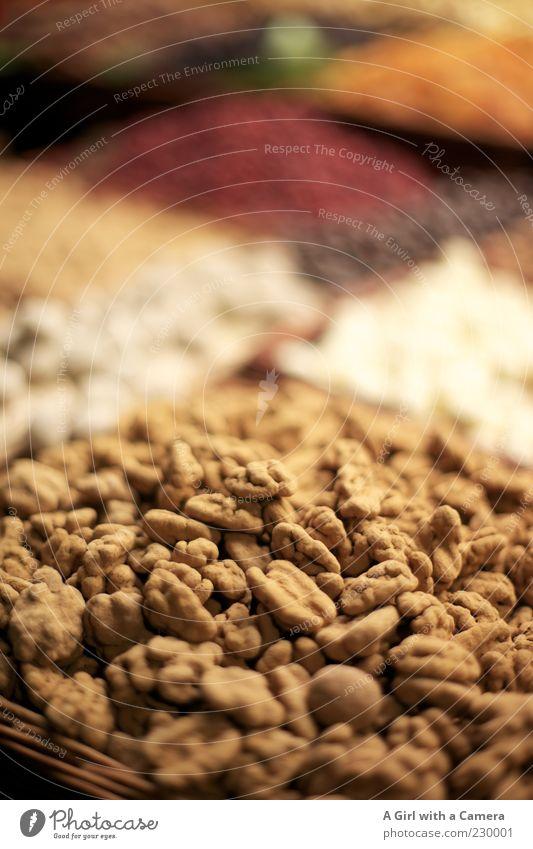 gibt's das? klein Gesundheit außergewöhnlich Frucht Lebensmittel Ernährung süß viele Süßwaren lecker Bioprodukte Markt exotisch Zucker Vegetarische Ernährung Nuss