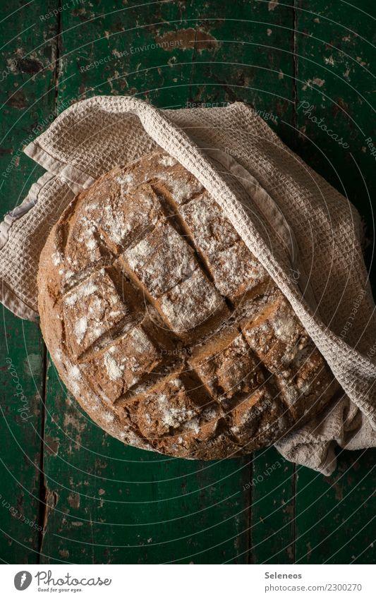 Landbrot Essen Gesundheit Lebensmittel Ernährung frisch lecker Bioprodukte Frühstück Brot Backwaren Abendessen Vegetarische Ernährung Mittagessen Teigwaren