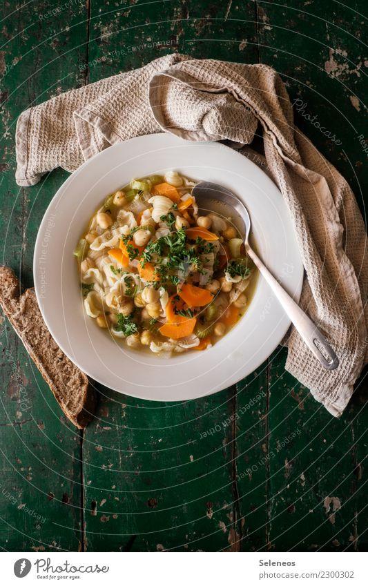 Suppenliebe Essen Wärme Gesundheit Lebensmittel Ernährung frisch Kräuter & Gewürze lecker Gemüse Bioprodukte Brot Abendessen Diät Vegetarische Ernährung