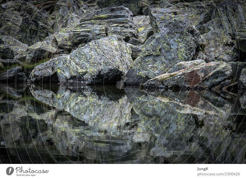 Traumschön 3 Berge u. Gebirge wandern Umwelt Natur Landschaft Wasser Sommer Alpen See Gebirgssee Symmetrie ästhetisch Glück Zufriedenheit ruhig demütig