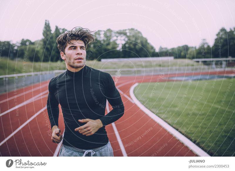 Mensch Jugendliche Gesunde Ernährung Junger Mann Freude 18-30 Jahre Erwachsene Leben Lifestyle Gesundheit Sport Bewegung Gesundheitswesen Zufriedenheit maskulin