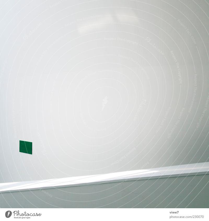 # Mauer Wand Fassade Beton Linie Streifen authentisch elegant frei frisch einzigartig modern positiv weiß Beginn ästhetisch Design Ordnung rein Qualität Ferne