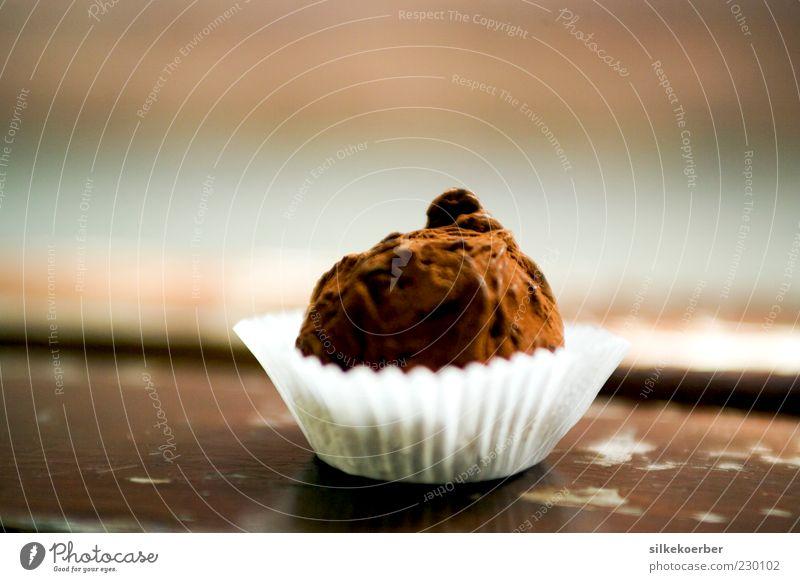 amère et fine ll Lebensmittel Dessert Süßwaren Schokolade Konfekt Ernährung lecker rund süß braun weiß Laster Appetit & Hunger Völlerei Genusssucht Kakao 1