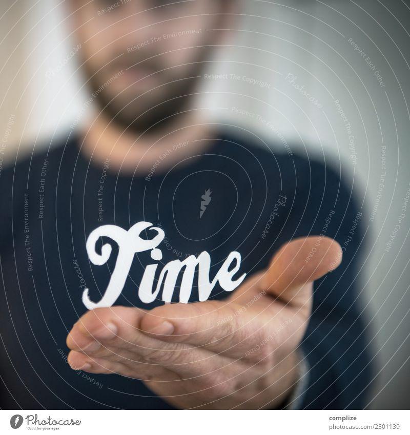 Zeit geschenkt! Gesundheit Erholung ruhig Ferien & Urlaub & Reisen Arbeit & Erwerbstätigkeit Beruf Arbeitsplatz Büro Güterverkehr & Logistik Business Mann